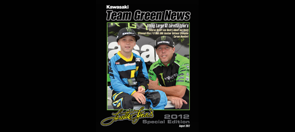 Team Green News - August 2012 Edition